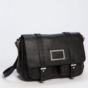 Marc Jacobs Werdie Leather Messenger Bag